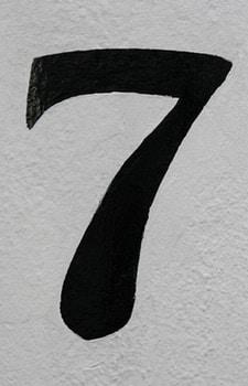 Siffran sju ger tur och otur för de med vidskeplighet i spel