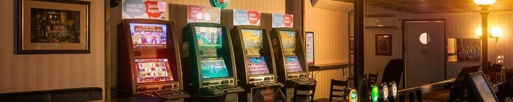 Spela Jack Vegas maskiner på restauranger