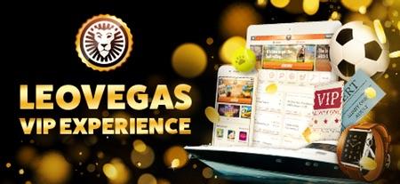 Lojalitetsklubb med bonus hos LeoVegas Casino