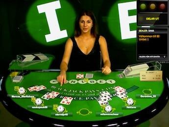 Om att spela i ett live casino online
