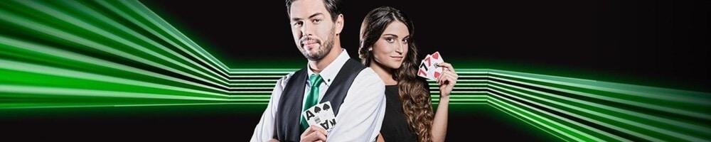 Live dealer hos Unibet Casino