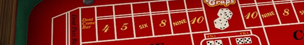 Spela craps online - regler och strategi