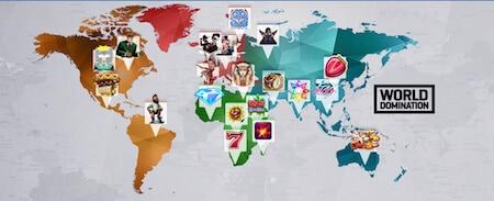 Erövra länder och vinn priser hos NordicBet