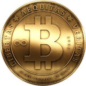 Bitcoin mynt kryptovaluta