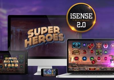 Spela i mobilen med Yggdrasil iSense 2.0