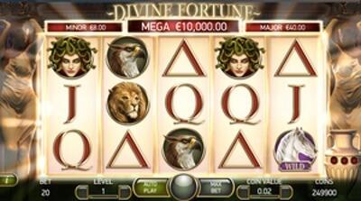 Spela Divine Fortune och vinn jackpot med bonus