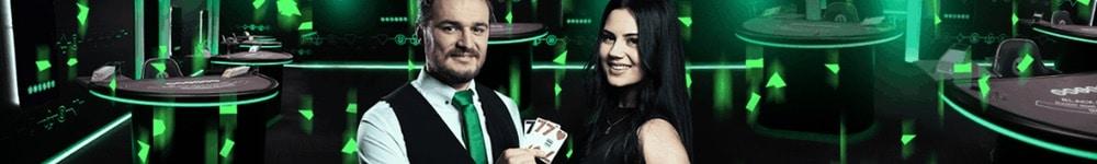Spela live black jack hos Unibet casino