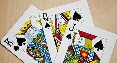 Höga kort är värda 10