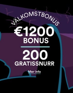 12000 kronor och 200 free spins hos Casumo Casino!