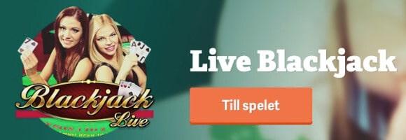 Spela live med bonus hos Paf Casino
