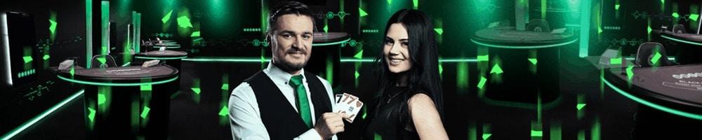 Spela i live casino med Unibet Casino