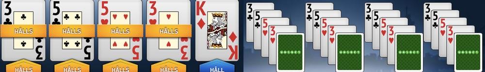 Spela fler händer vinn mer med video poker strategi