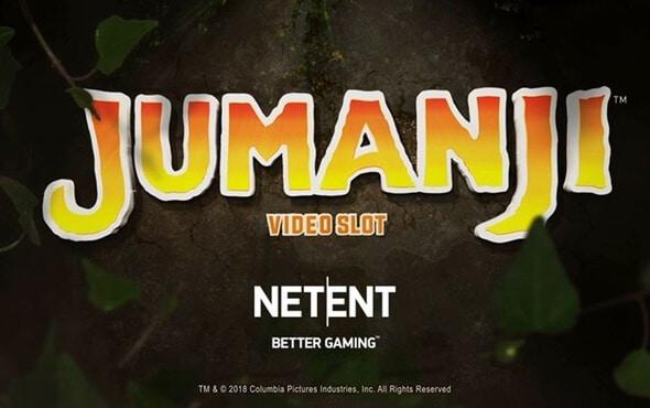 Jumanji slot från NetEnt