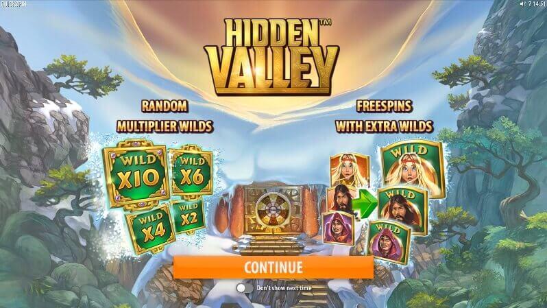 Testa Hidden Valley slot gratis