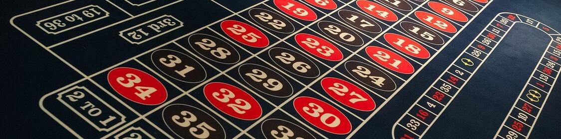 Roulette bord - satsningar och odds i spelet