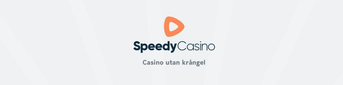 Spela utan konto hos Speedy Casino och logga in med bankidentifikation
