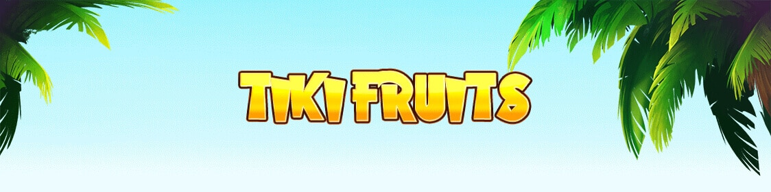 Tiki Fruits spelautomat från Red Tiger Gaming