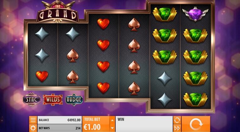 Spela The Grand slot gratis i mobil och dator