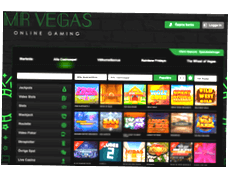 Mr Vegas slots i casinot