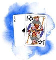 Blackjack - ett ess och en kung