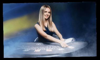 Live blackjack dealer hos NordicBet