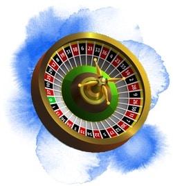 Roulettehjul hos live casino för storspelare